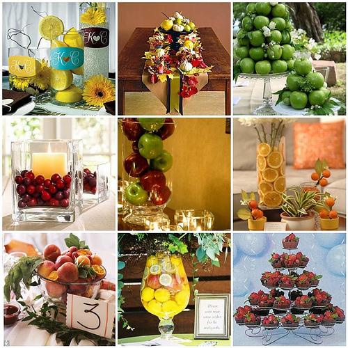 Fruit centerpieces makeupshanna 39 s blog for Apple fruit decoration